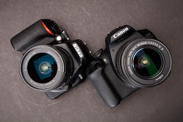 Nikon D3500 Vs Canon EOS Rebel T6